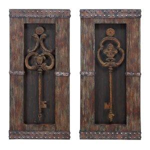 Key Wall Du00e9cor (Set of 2)
