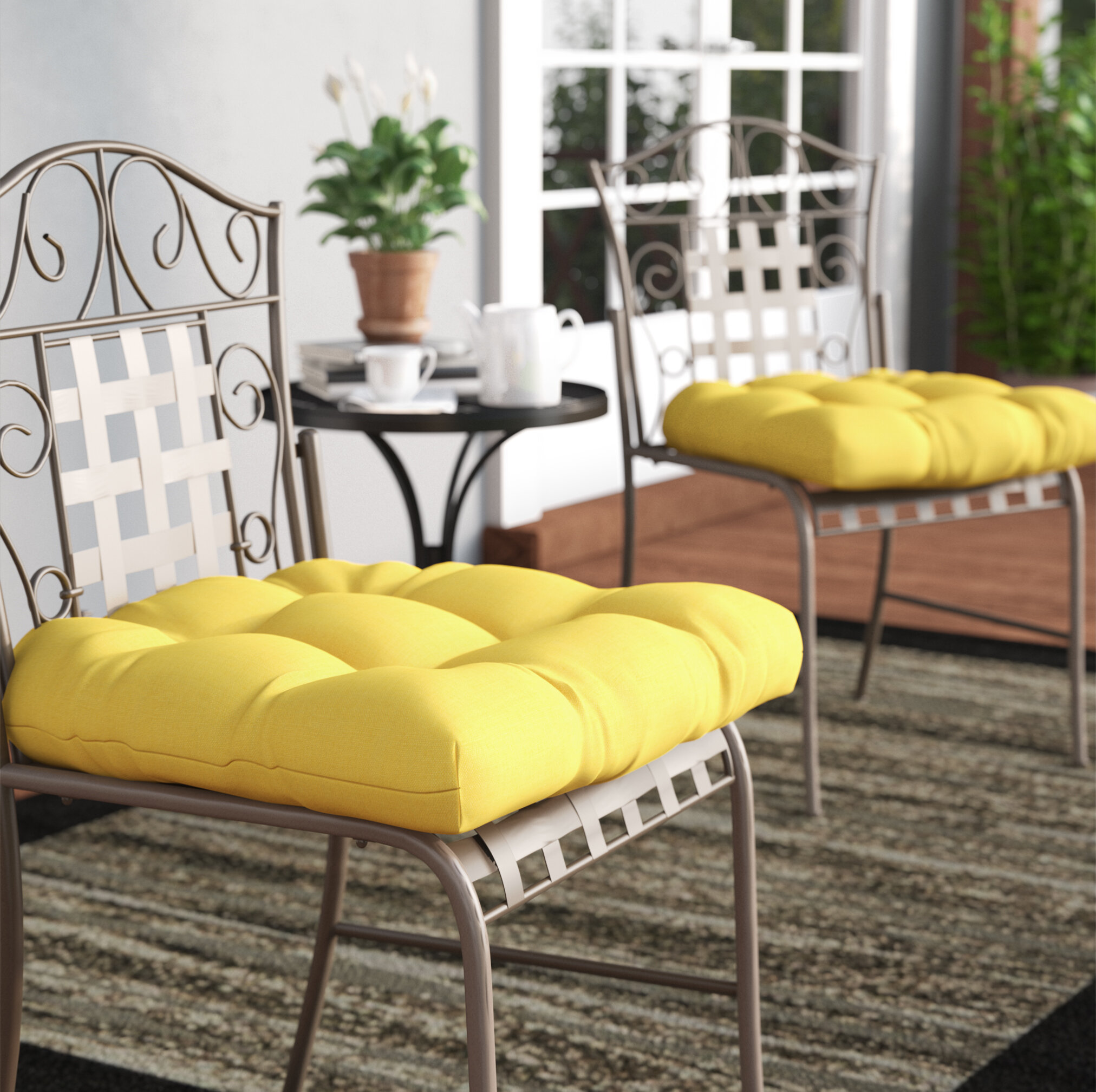 Claiborne Indoor/Outdoor Dining Chair Cushion