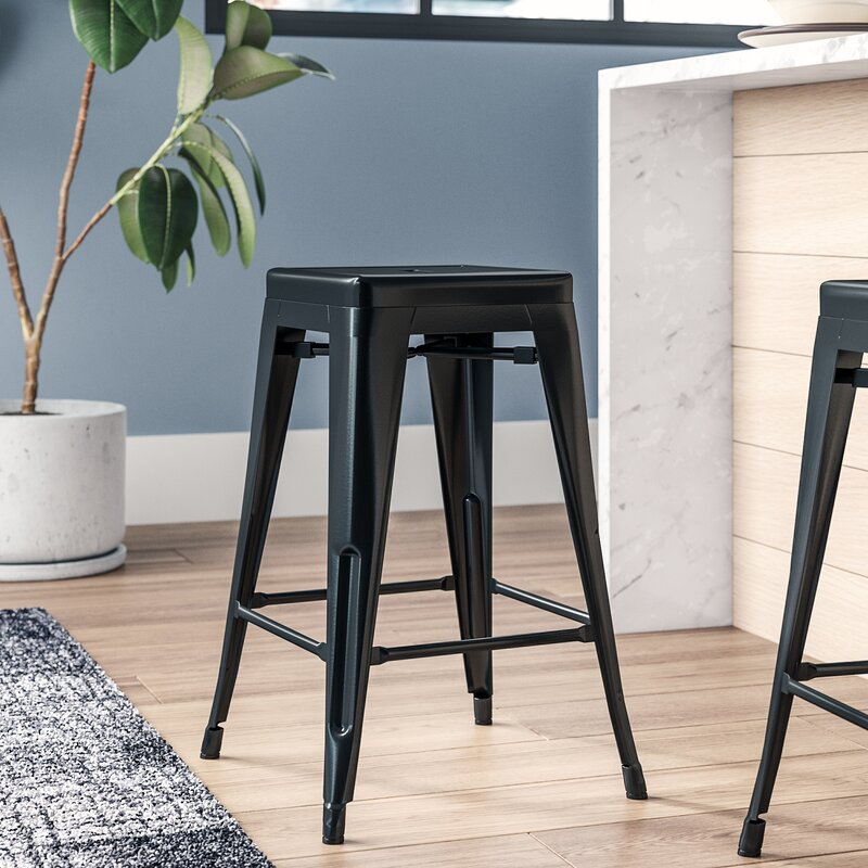 Lompoc 24 Quot Bar Stool Amp Reviews Allmodern