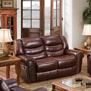 Lancaster Double Reclining Loveseat by Cambr..