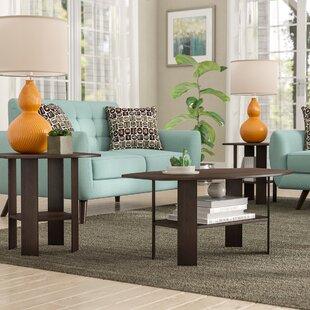 wayfair coffee table sets Dark Brown Coffee Table Set | Wayfair wayfair coffee table sets