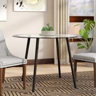 Merveilleux Bider Glass Dining Table