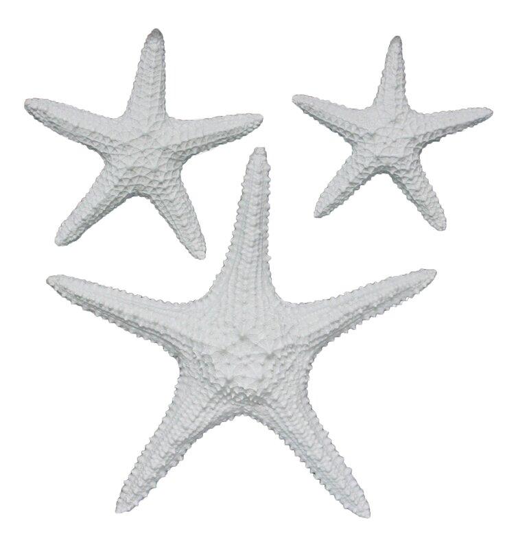 Fetco Home Decor Yelton 3 Piece Starfish Wall Décor Set & Reviews ...
