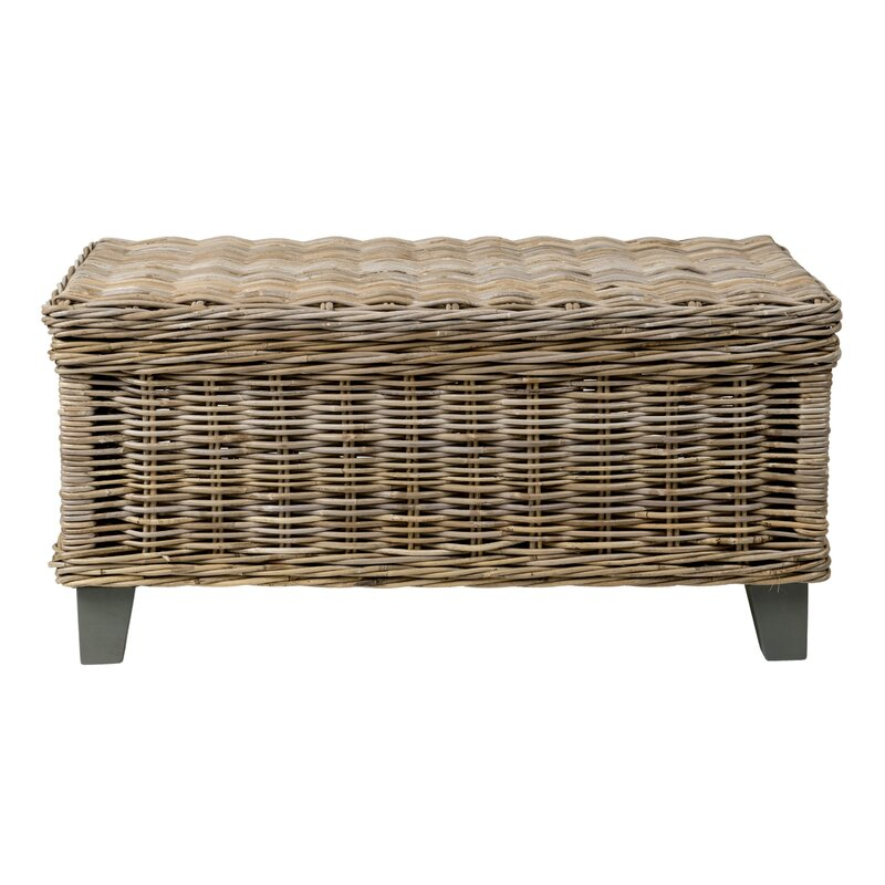 Exceptionnel Rivera Rattan Coffee Table