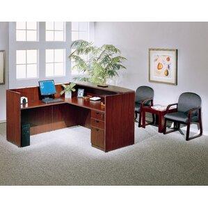 lshape reception desk - Reception Desks