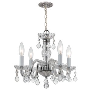 Darren 4-Light Crystal Chandelier