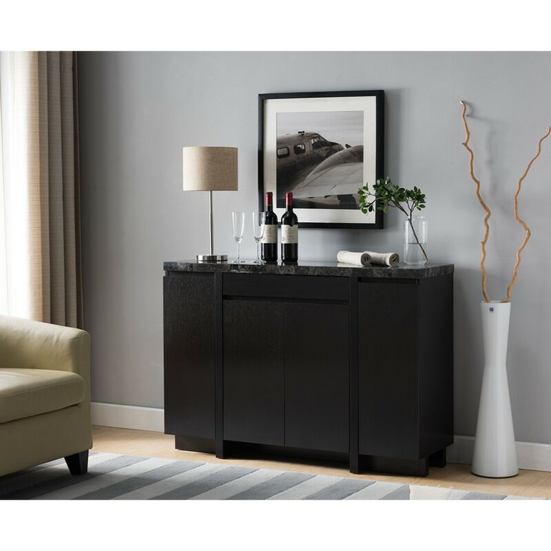 Delicieux Manley Wooden Buffet Table