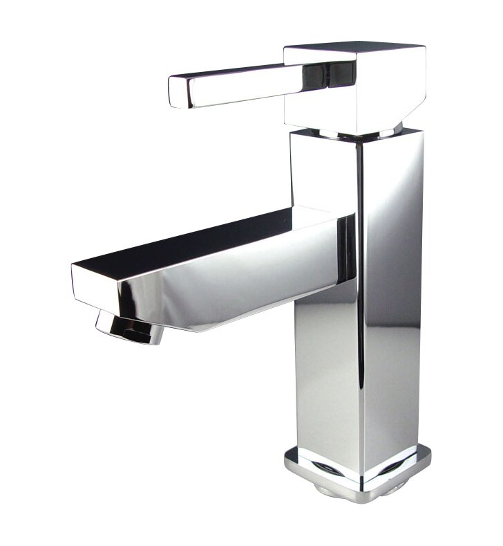 Fresca Versa Single Hole Mount Bathroom Faucet with & Reviews | Wayfair