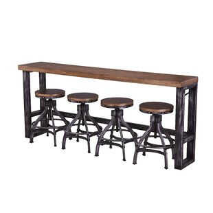 Wellman 5 Piece Solid Wood Dinning Set