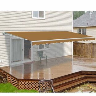 D Retractable Motorized Patio Awning