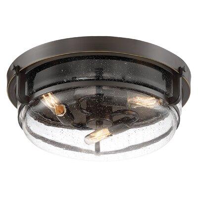 Dickison 3 light flush mount allmodern dickison 3 light flush mount aloadofball Image collections