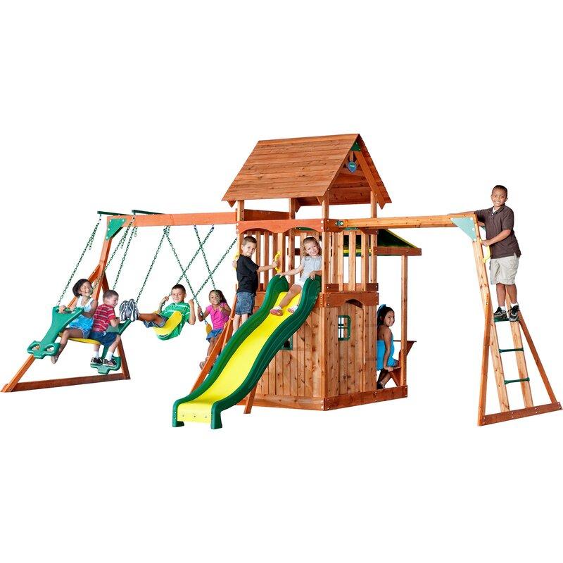 Backyard Discovery Saratoga Swing Set & Reviews