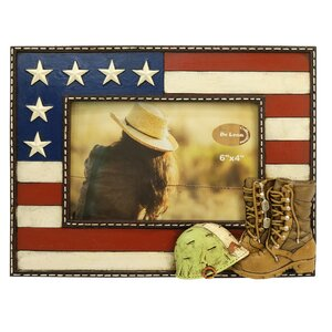 Military Boots Picture Frame