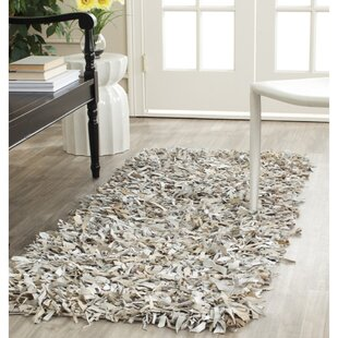 Carrol White Area Rug