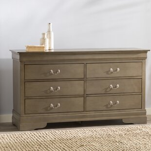 Lisle 6 Drawer Double Dresser