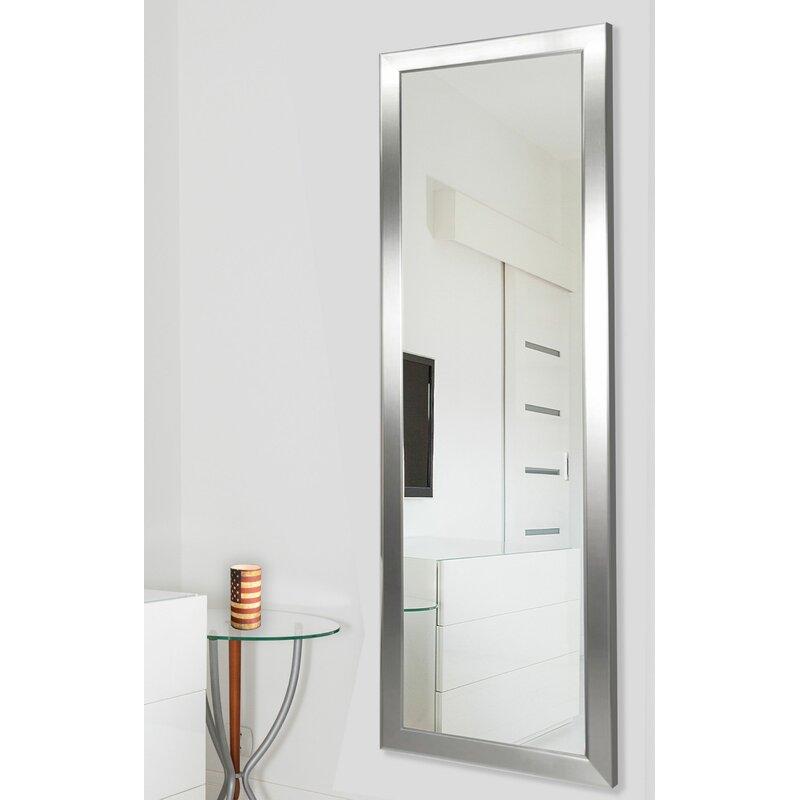 Edge Minimal Modern Contemporary Full Length Body Mirror Reviews Allmodern