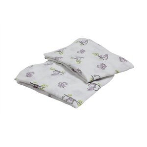 Happy Monkeys Fitted Crib Sheets (Set of 2)