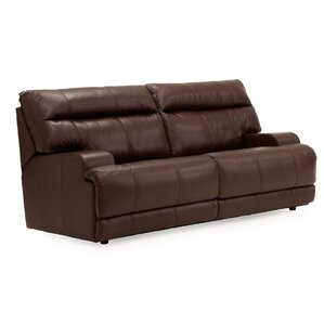 Lincoln Leather Reclining Loveseat by Palliser Furniture