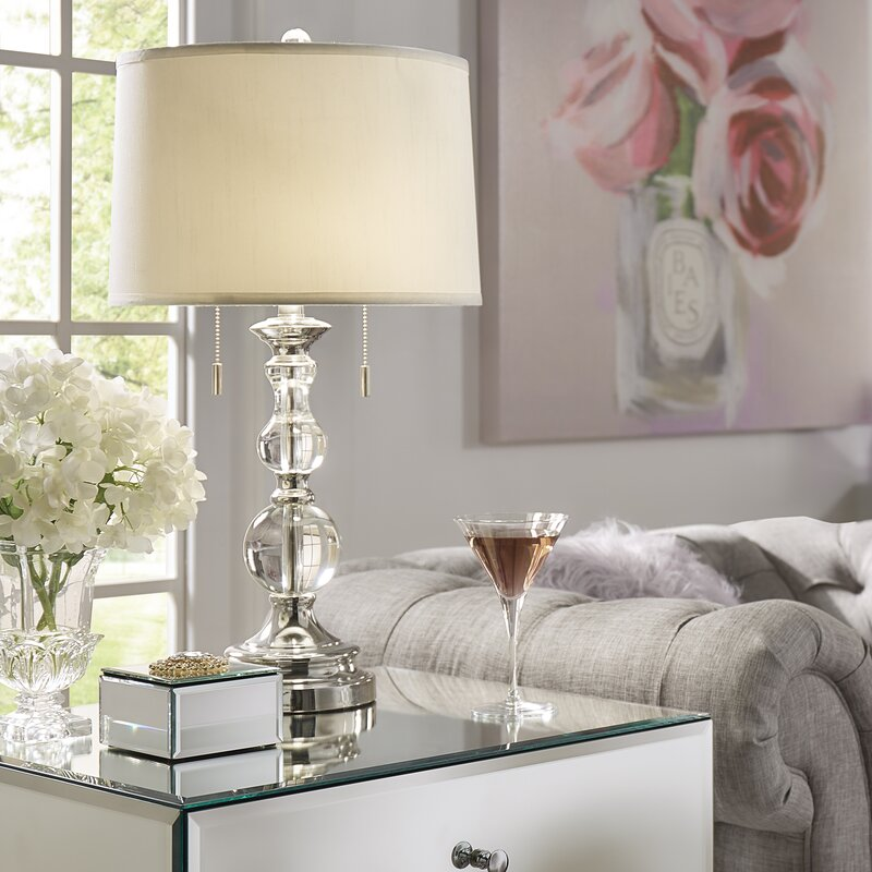 "Willa Arlo Interiors Agda 26.5"" Table Lamp & Reviews"