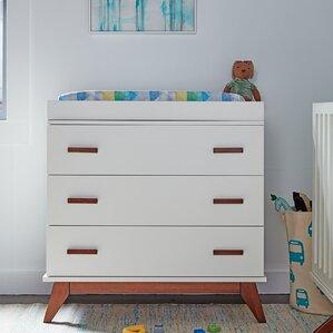 kids modern furniture. norfolk 3 drawer dresser kids modern furniture