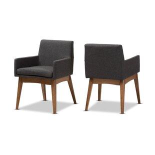 Admirable Modern Contemporary Elegant Beige Dining Chairs Allmodern Evergreenethics Interior Chair Design Evergreenethicsorg