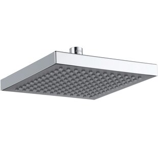 modern shower head recessed bathroom lighting recessed ceiling quickview ceiling mounted shower heads youll love wayfair