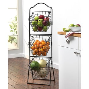 3 Tier Metal Basket