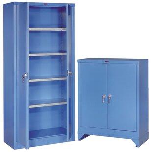 78 H X 36 W 18 D Extra Heavy Duty Storage Cabinet