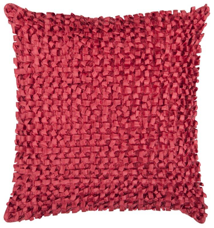 Viv Rae Raekwon Synthetic Throw Pillow Amp Reviews Wayfair
