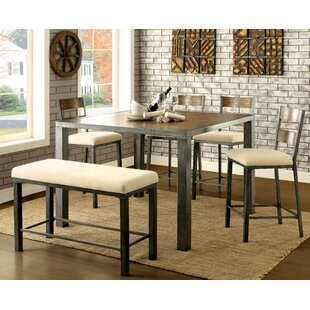 Thurman 6 Piece Counter Height Dining Table