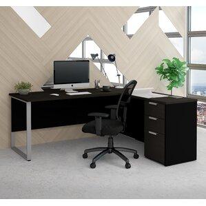 Hartleton Modern L Shape Corner Desk