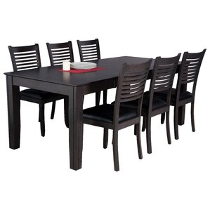 Avangeline 7 Piece Dining Set by Gracie O..