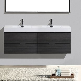 Modern Bathroom Vanities Cabinets AllModern - Wall mount vanities for bathrooms