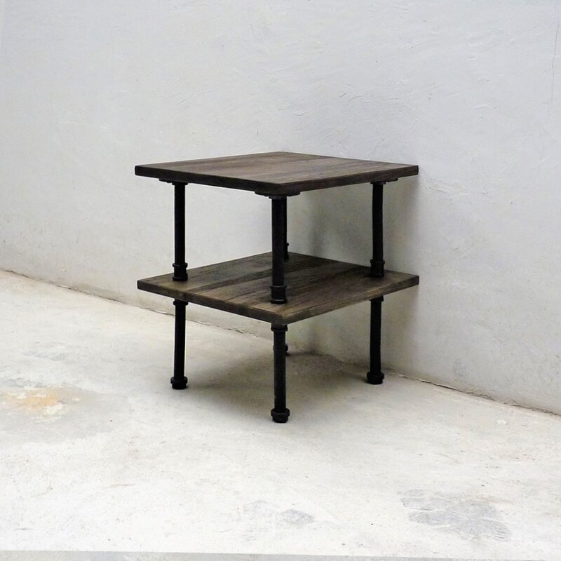 Etonnant Cissell Industrial Chic End Table