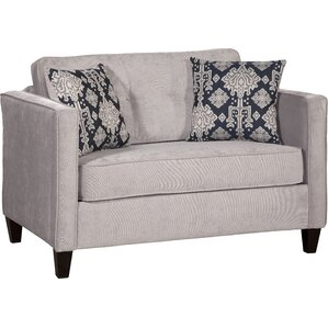 Serta Upholstery Cia Sleeper Loveseat by Willa Arlo Interiors