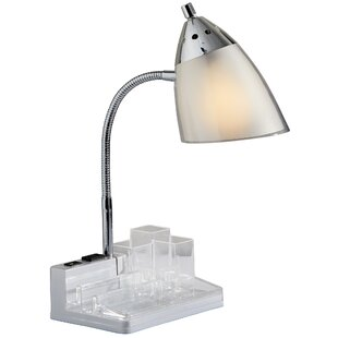Modern contemporary table lamp with outlet allmodern davet 145 table lamp mozeypictures Choice Image