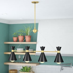 Attrayant Kitchen Island Mid Century Modern Pendants Youu0027ll Love   Wayfair