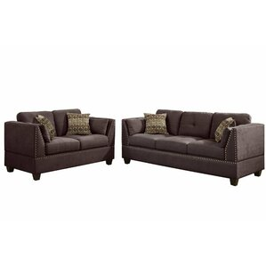 Esmond 2 Piece Living Room Set by Alcott Hill