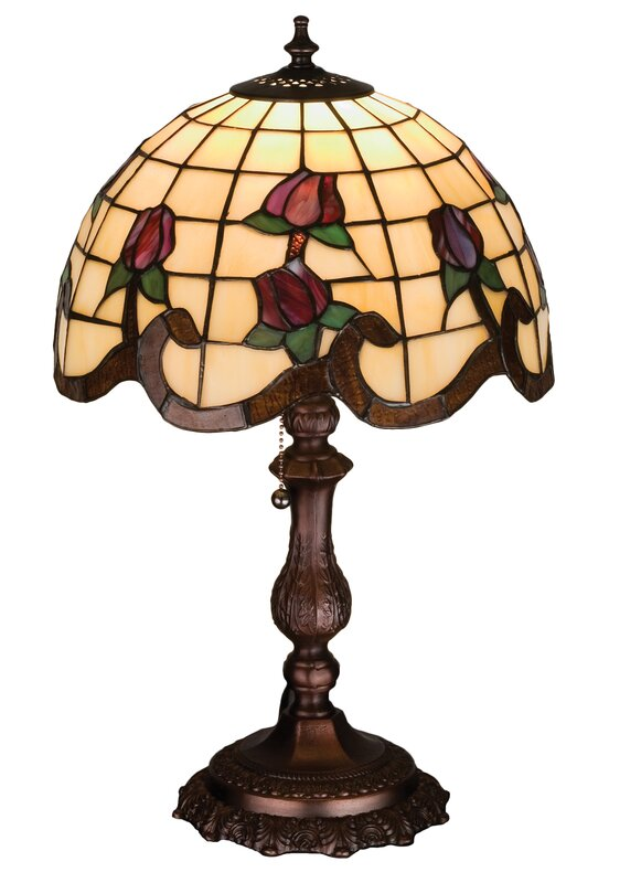"Roseborder 20"" Table Lamp"