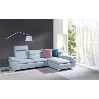 Brayden Studio Levering Sleeper Sectional