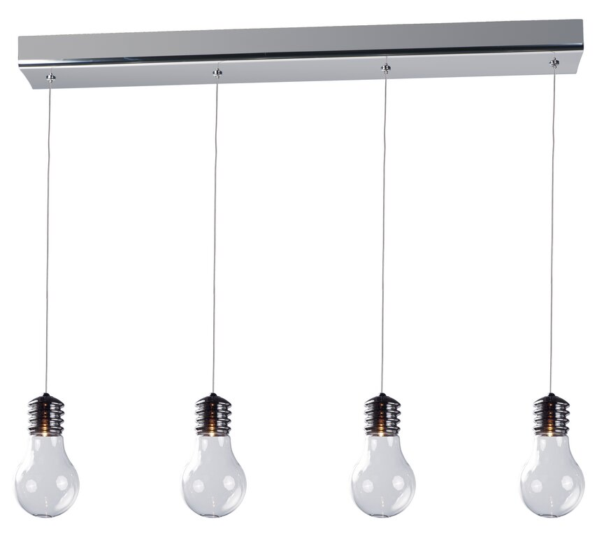 Et2 edison 4 light pendant reviews wayfair edison 4 light pendant aloadofball Images