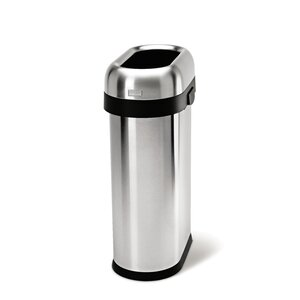 Stainless Steel 13 Gallon Trash Can