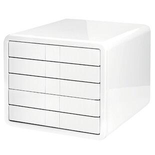 5 Drawer Letterpress Cube | Wayfair ca