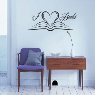 Northgate I Love Books Vinyl Wall Words Decal
