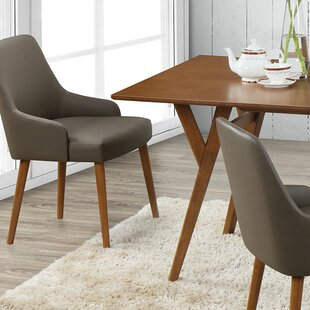 Buckleton Modern Upholstered Dining Chair (Set of 2)