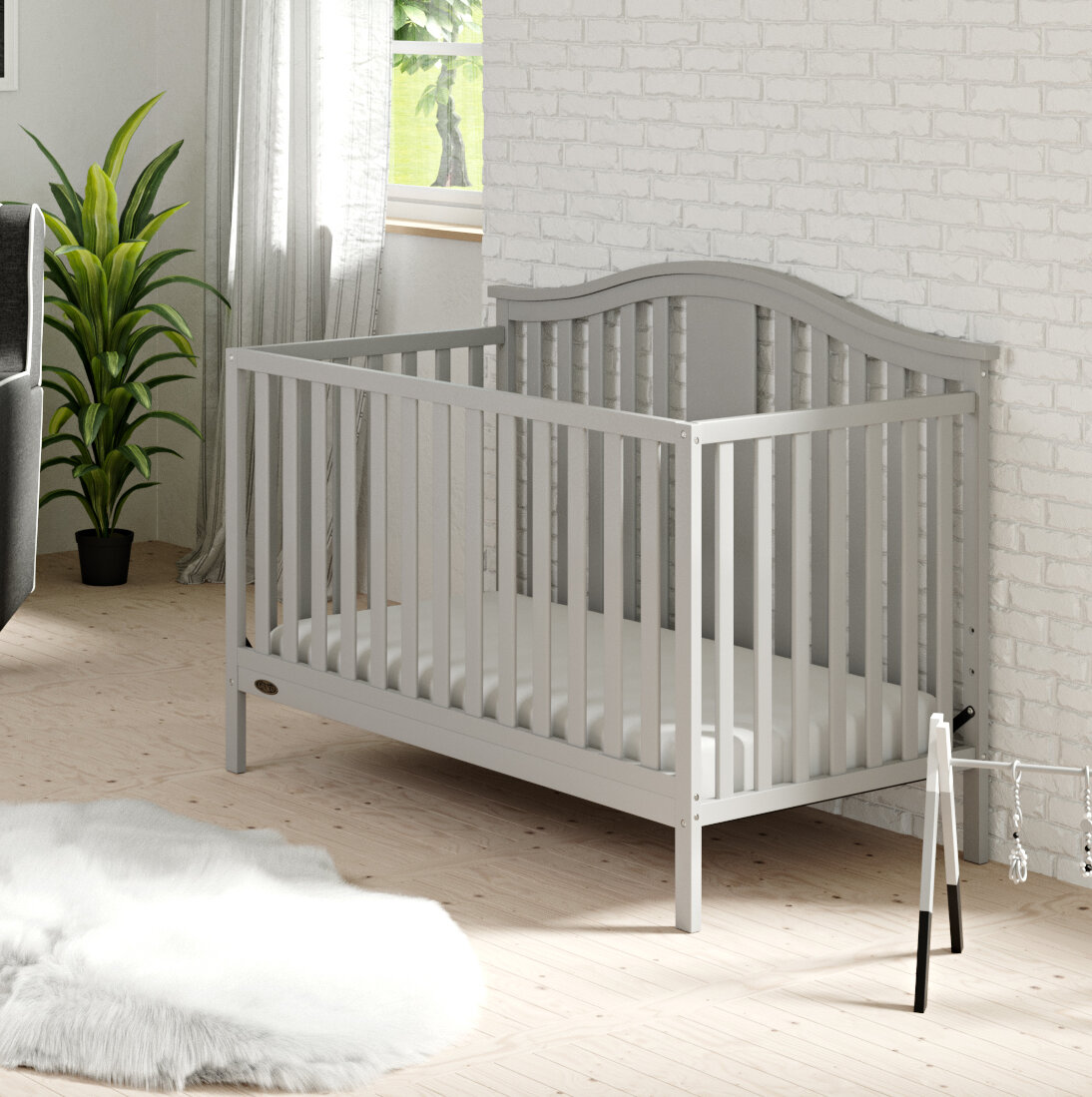 graco solano 4 in 1 convertible crib with mattress reviews wayfair