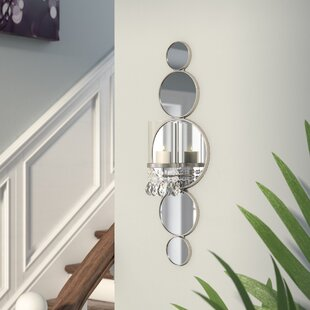 Mirrored Wall Sconce & Mirrored Candle Wall Sconces | Wayfair
