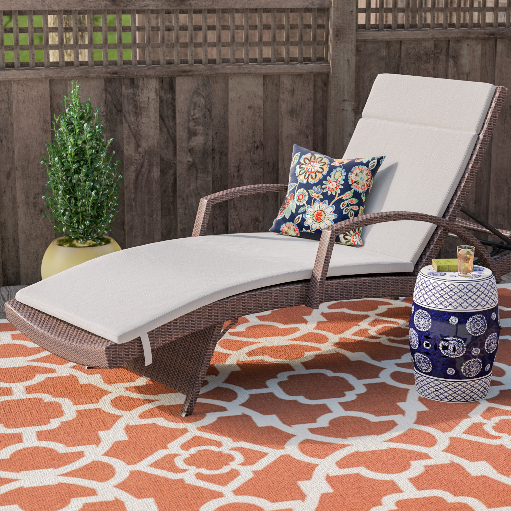 appealing exterior sale of also with transform perfect for sunbrella home cushions fabric on decor lounge chaise enchanting your costco