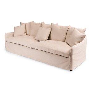 Frost Ecru Sofa by Sarreid Ltd