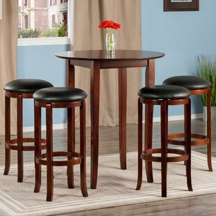 Kitchen Pub Table Pub tables bistro sets youll love wayfair fiona 5 piece pub table set workwithnaturefo